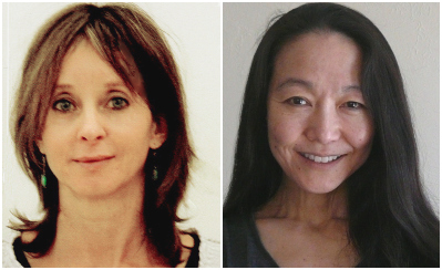 Jina Brenneman and Margaret Kasahara