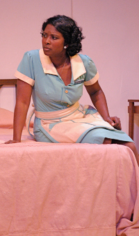 Betty Hart in the Arvada Center's 'The Mountaintop.' P. Switzer photo.