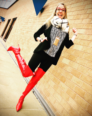 Brenna Clendaniel was REALLY looking forward to 'Kinky Boots.'