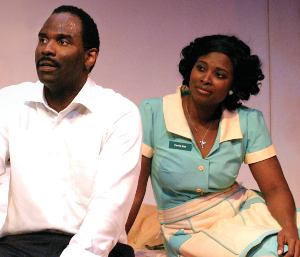 Cedric Mays and Betty Hart in the Arvada Center's 'The Mountaintop'