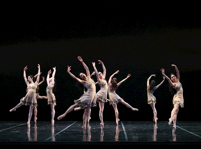 Artists of Colorado Ballet in Celts by David Andrews