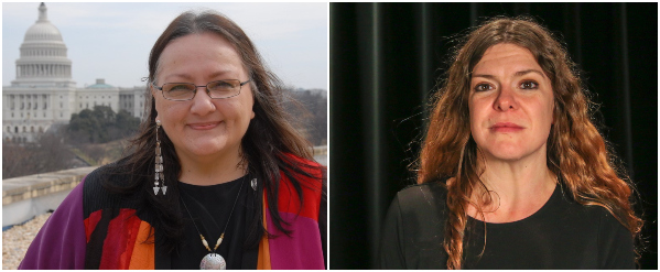 2020 True West Awards Mary Kathryn Nagle and Suzan Shown Harjo
