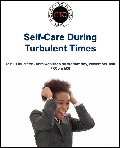 Colorado Theatre Guild Self Care