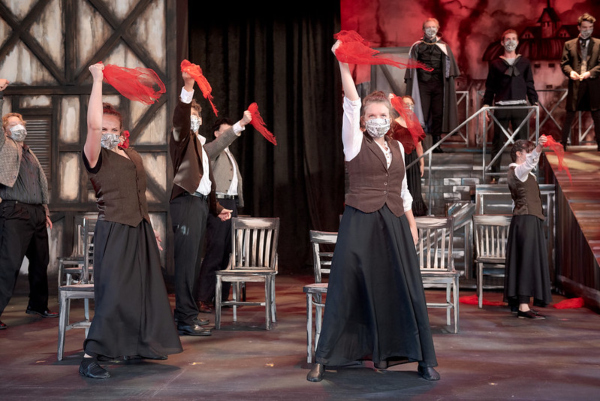 Sweeney Todd student musical. Matt Gale Photography