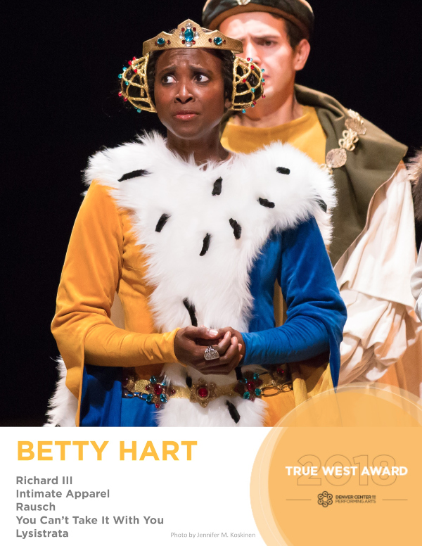 True West Award Betty Hart