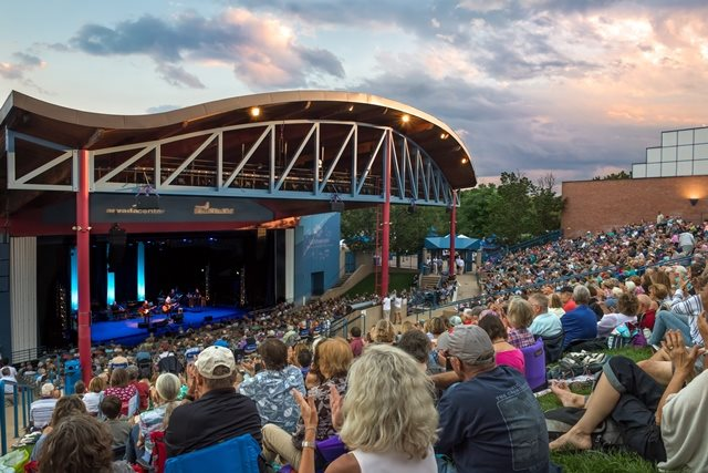 Enjoy a concert in our outdoor amphitheatre